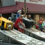 Soap box Derby in Marshall, Texas.
