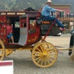 In Silverton, Colorado. Missy called Uber and this is what showed up. LOL.